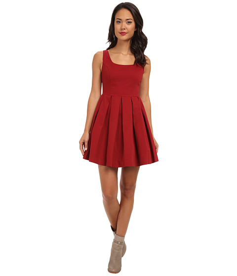 BB Dakota - Dane Dress (Blood Red) Women