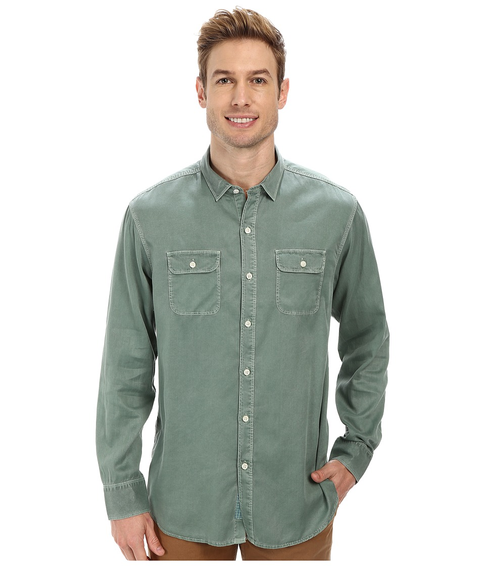 Tommy Bahama - Twill Factor L/S Button Up (Retreat) Men
