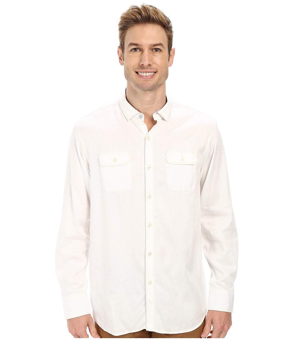 Tommy Bahama - Twill Factor L/S Button Up (Cloud) Men