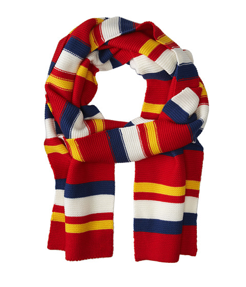 Marc by Marc Jacobs - Rory Who Scarf (Cambridge Red Multi) Scarves