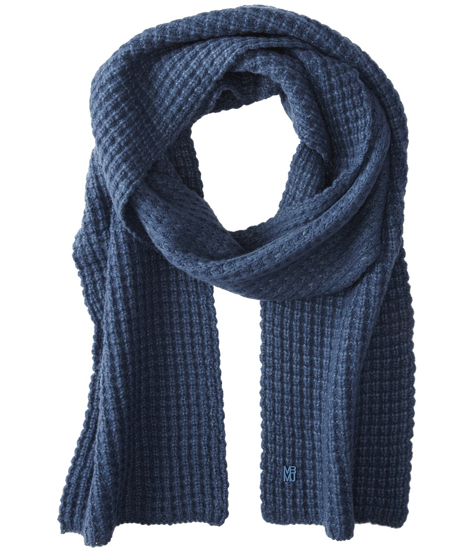 Marc by Marc Jacobs - Walley Scarf (Smokey Blue) Scarves