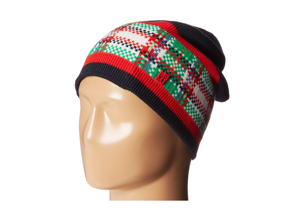 Marc by Marc Jacobs - Percy Beanie (Normandy Blue Multi) Beanies