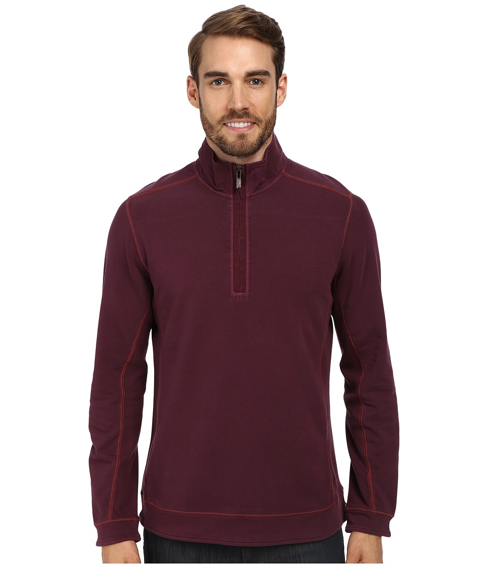 Tommy Bahama - Ben And Terry Half-Zip Sweatshirt (Planet) Men's Long Sleeve Pullover