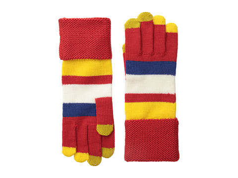 Marc by Marc Jacobs - Rory Who Glove (Cambridge Red Multi) Dress Gloves
