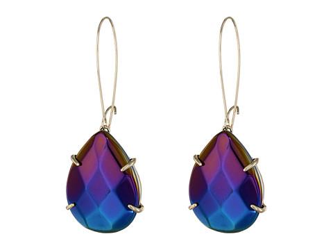 2 Upc 842177103555 Product Image For Kendra Scott Allison Earrings Gold Black Iridescent Gl