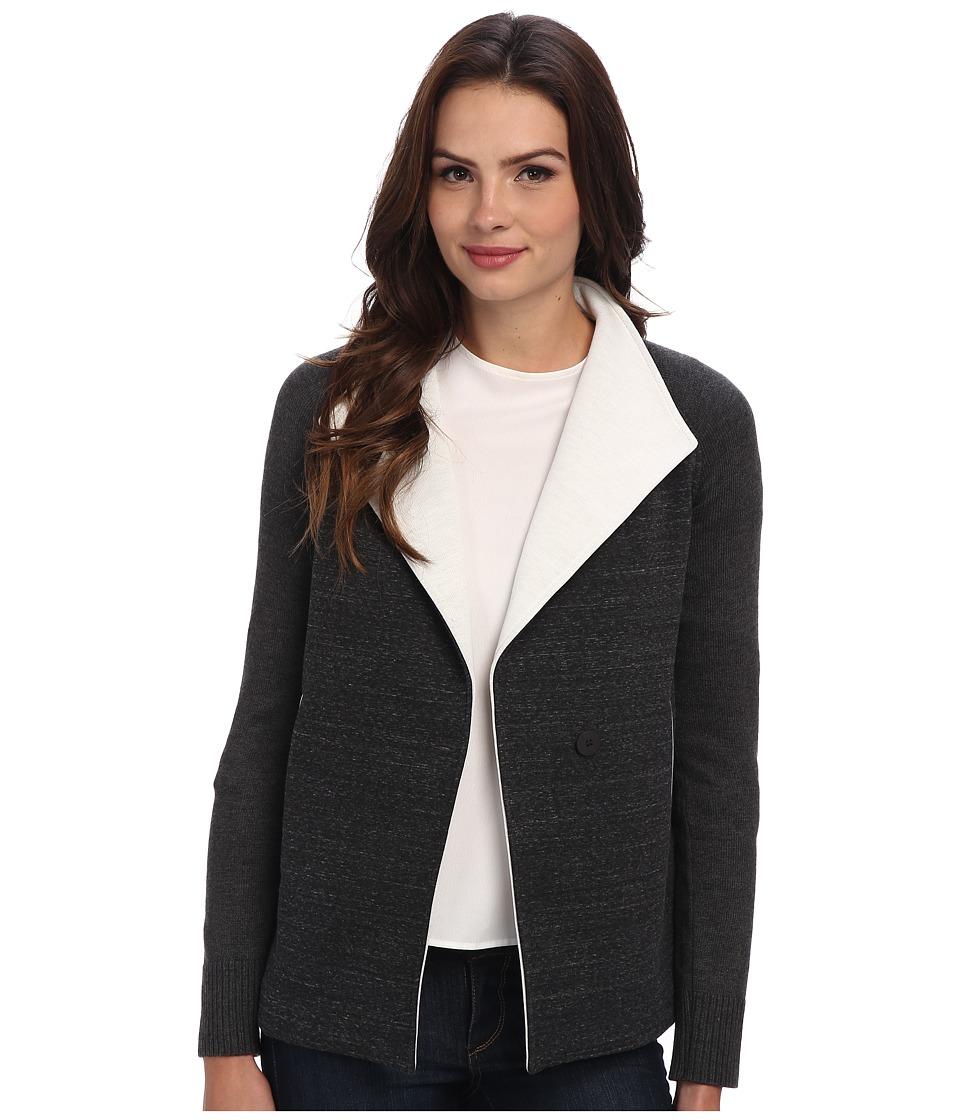 Bailey 44 - Group Dynamic Jacket (Grey/Ecru) Women's Coat