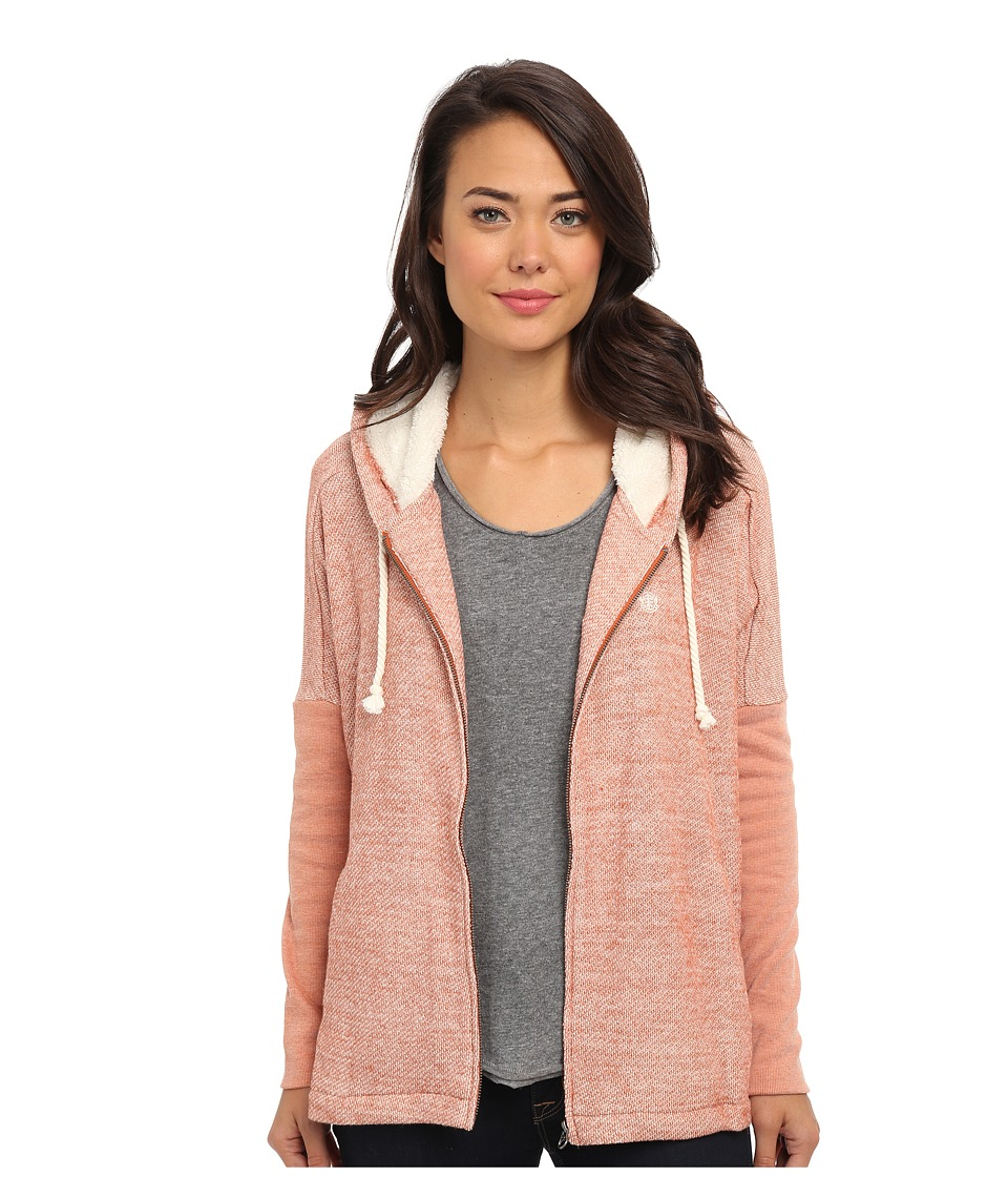 Element - Lisa French Terry Hoodie (Rust) Women's Sweatshirt