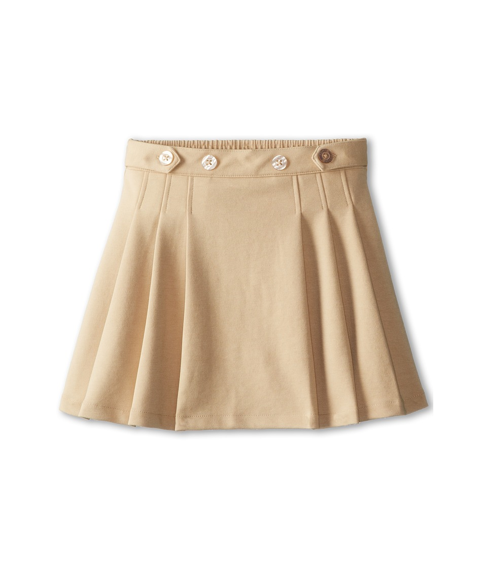 Tommy Hilfiger Kids - School Girl Skort (Big Kids) (Khaki) Girl's Skort