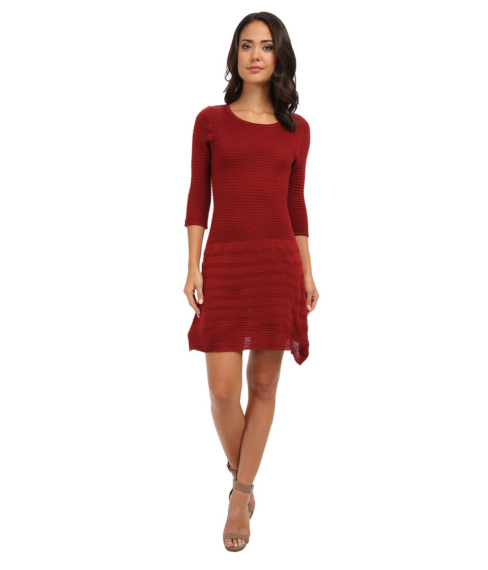 BB Dakota - Evie Dress (Blood Red) Women's Dress