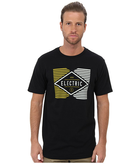 Electric Eyewear - Drag S/S Tee (Black) Men's Short Sleeve Knit