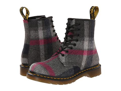 Dr. Martens - Castel (Grey/Pink) Women's Boots
