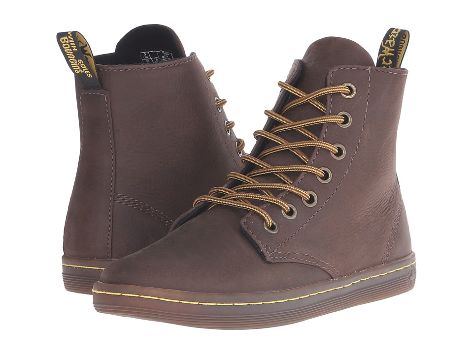 Dr. Martens - Leyton (Dark Brown) Women's Boots