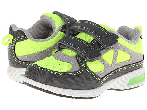 Carters - Ares-B (Toddler/Little Kid) (Grey/Yellow) Boy's Shoes
