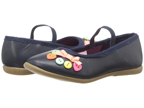 Carters - Tailor2 (Toddler/Little Kid) (Navy) Girl's Shoes