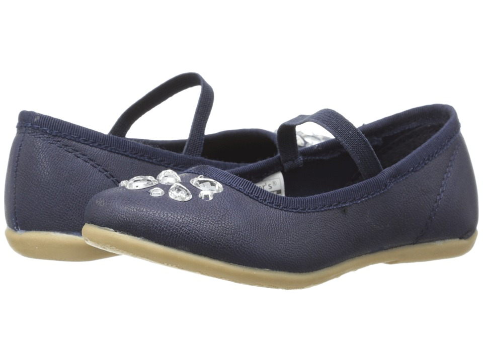 Carters - Alessa (Toddler/Little Kid) (Navy) Girl's Shoes