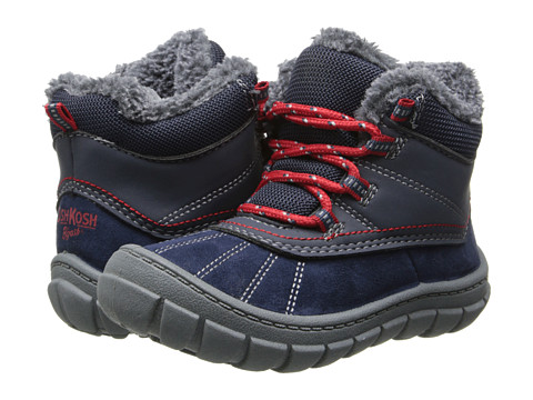 OshKosh - Marley 2 (Toddler/Little Kid) (Navy/Red) Boys Shoes