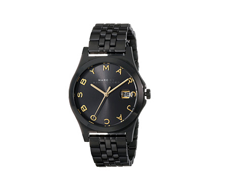 Marc by Marc Jacobs - MBM3354 - Slim 36mm (Black) Watches