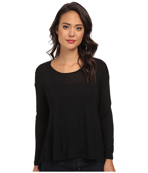 Obey - Abby Knit Tee (Black) Women