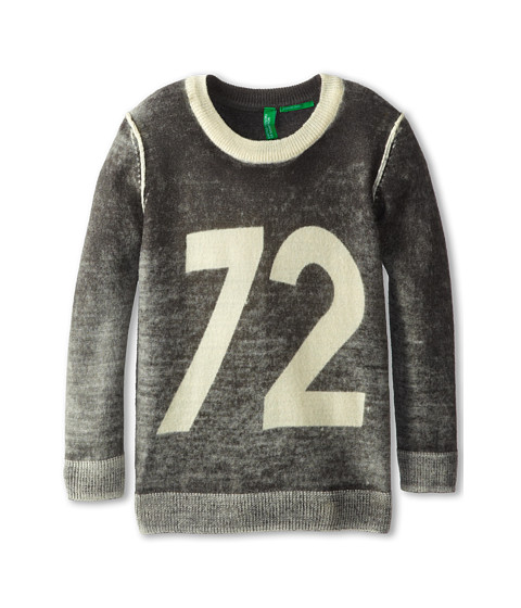 United Colors of Benetton Kids - Sweater L/S 14GBC1087 (Toddler/Little Kids/Big Kids) (901 Multi) Boy's Sweater