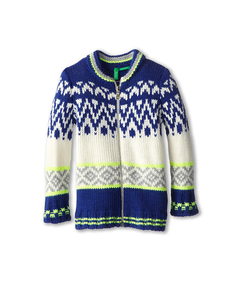 United Colors of Benetton Kids - L/S Sweater 1276Q5059 (Toddler/Little Kids/Big Kids) (600 Multi) Boy