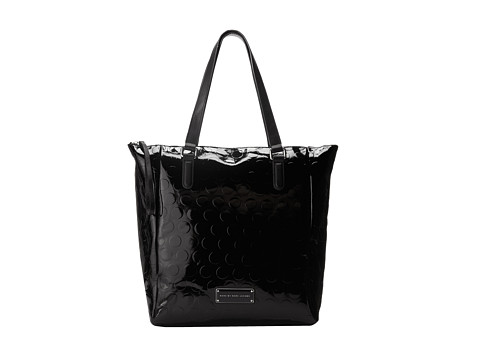 Marc by Marc Jacobs - Take Me Tote Big Dots Small Tote (Black) Tote Handbags