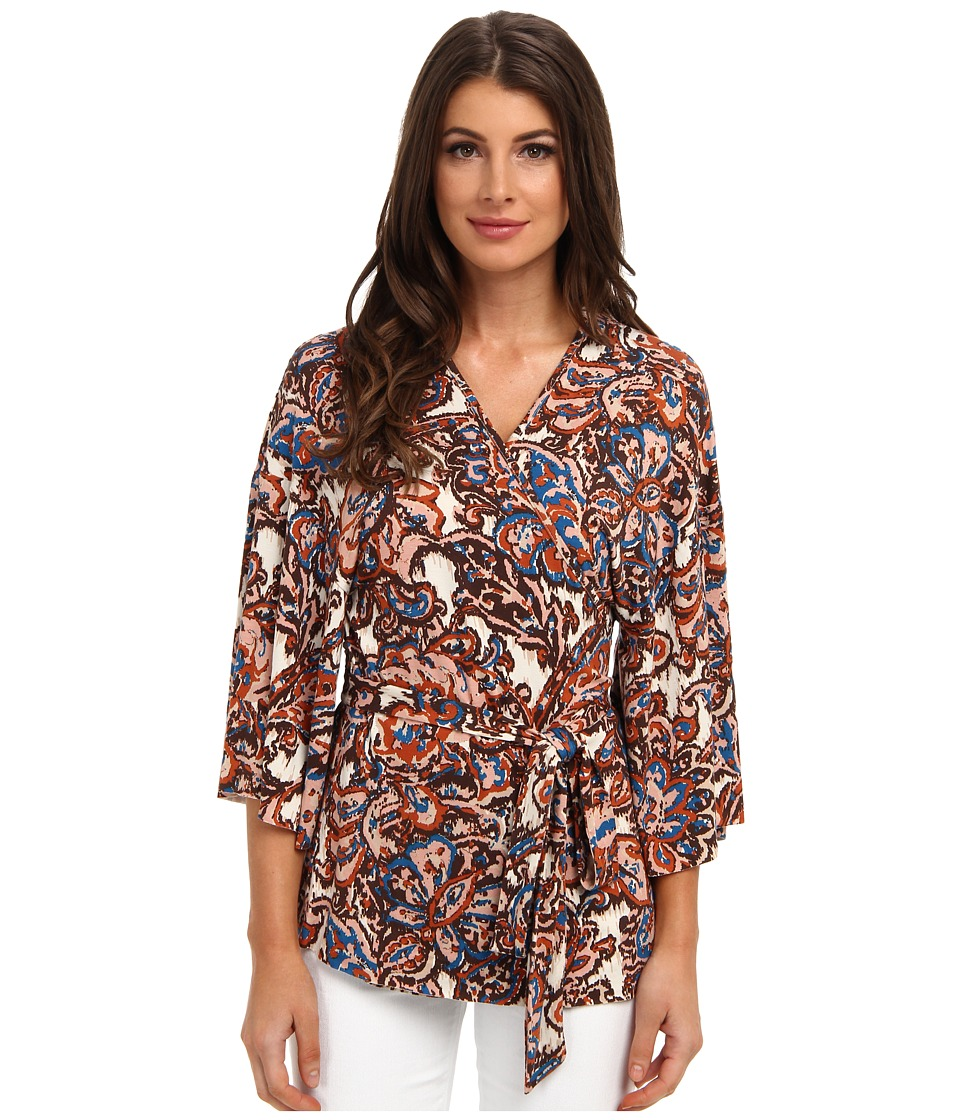 Rachel Pally - Kimono Top Print (Lotus Paisley) Women's Long Sleeve Pullover