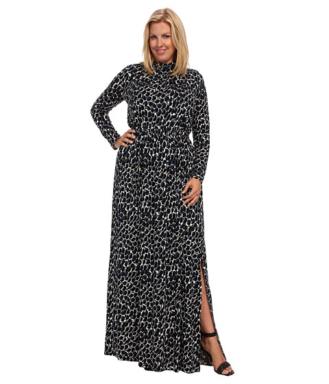 Rachel Pally Plus - Plus Size Rinko Dress White Label Print (Night Python) Women's Dress