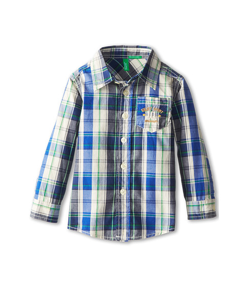 United Colors of Benetton Kids - Shirt 5CR45Q00P (Toddler) (907 Multi) Boy