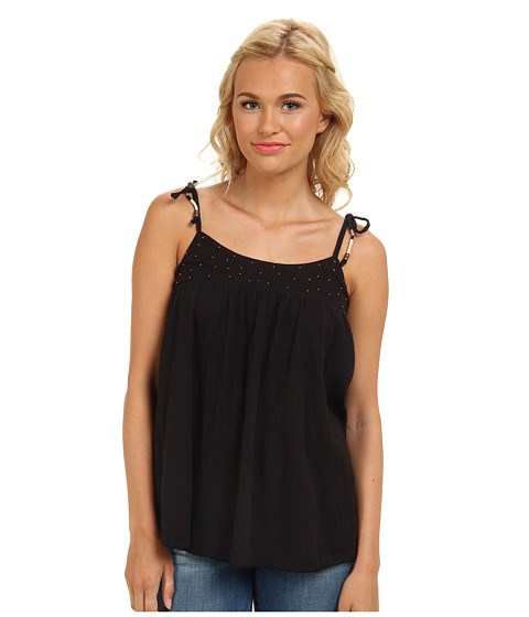 Roxy - Spirit Water Tank Top (True Black) Women's Sleeveless