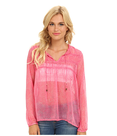 Roxy - Gypsy Garden (Rosy Pink Print) Women's Long Sleeve Pullover