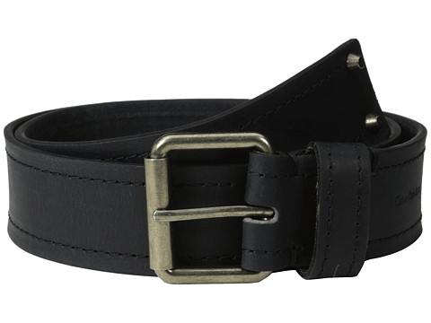 Calvin Klein - 40MM Belt w/ Harness Buckle (Black) Men's Belts