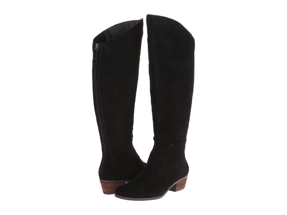 Dr. Scholl's - Melrose - Original Collection (Black Suede) Women's Shoes