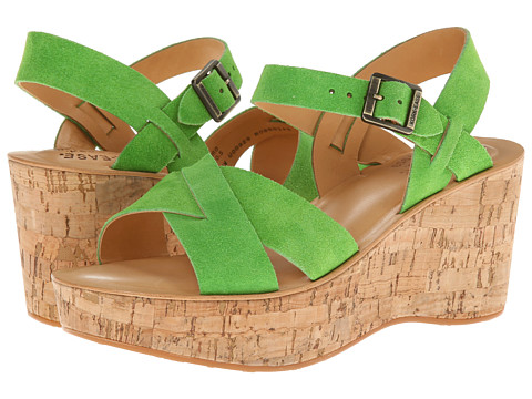 Kork-Ease - Ava (Bright Green Suede On Cork) Women