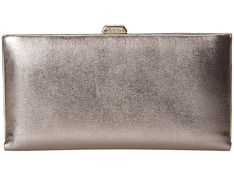 Lodis Accessories - Clearlake Quinn Clutch Wallet (Pewter) Clutch Handbags