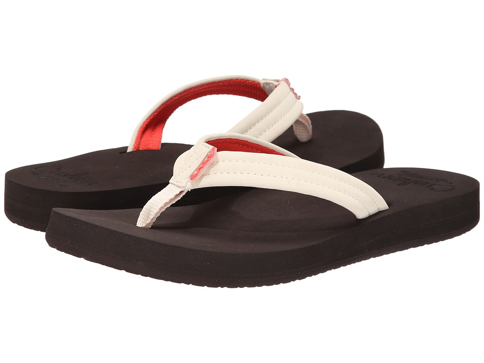 Reef - Cushion Breeze (Brown Cream) Women's Sandals