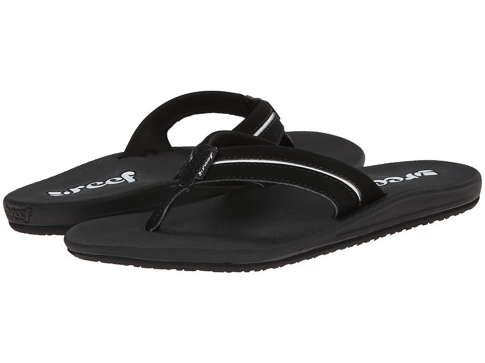 Reef - Harmony (Black/White) Women's Sandals