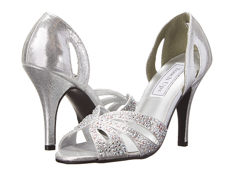 Touch Ups - Poise (Silver Shimmer) Women's Dress Sandals