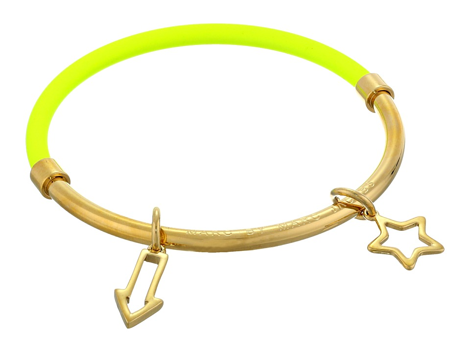 Marc by Marc Jacobs - Shoot Star Hula Hoop Bangle (Safety Yellow) Bracelet