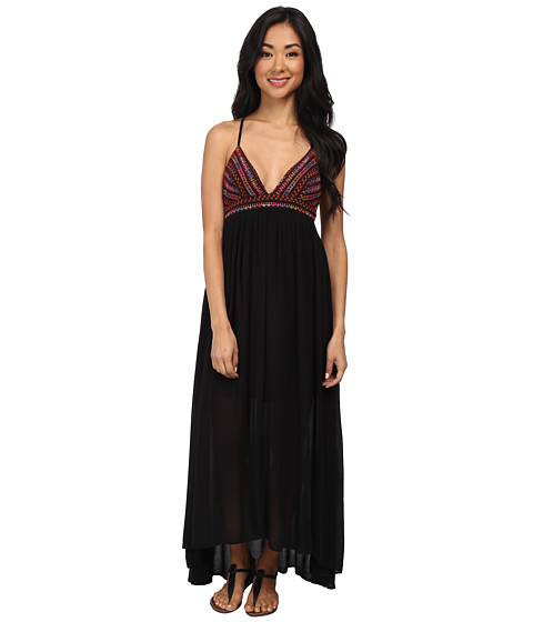 Billabong - Wild Skies Maxi Dress (Off Black) Women's Dress