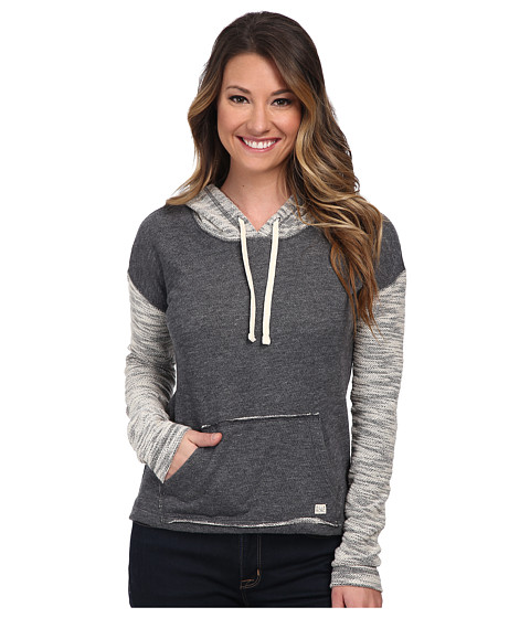 Billabong - How Lovely Pullover Hoodie (Charcoal Heather) Women's Sweatshirt