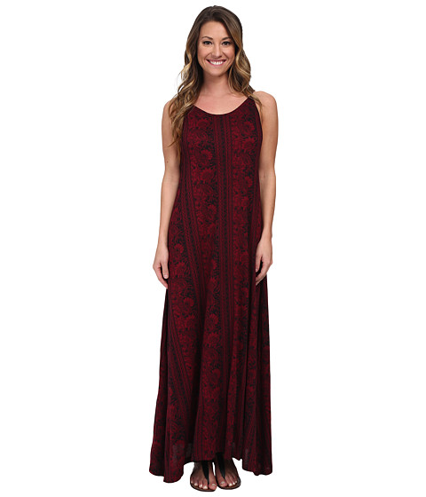 Billabong - Empty Room Maxi Dress (Sangria) Women's Dress
