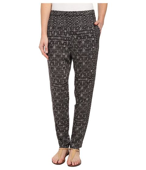 Billabong - Night Ever After Woven Pant (Black) Women's Casual Pants
