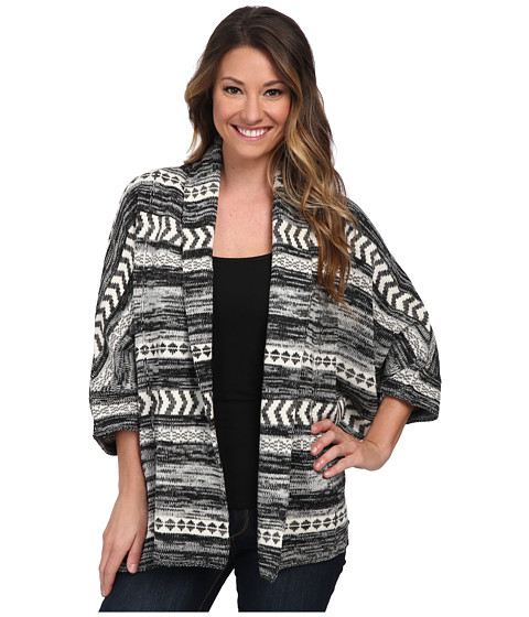 Billabong - Fortune Teller Cardigan (Black) Women's Sweater