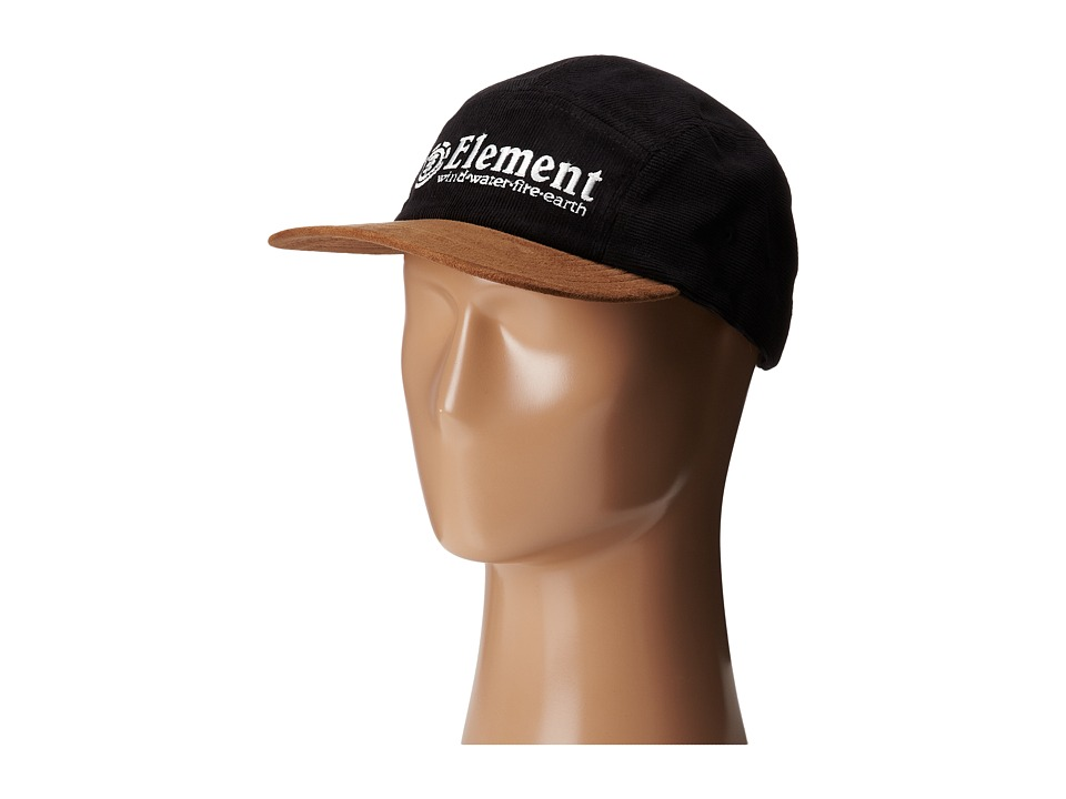 Element - Heritage Runners Cap (Black) Caps