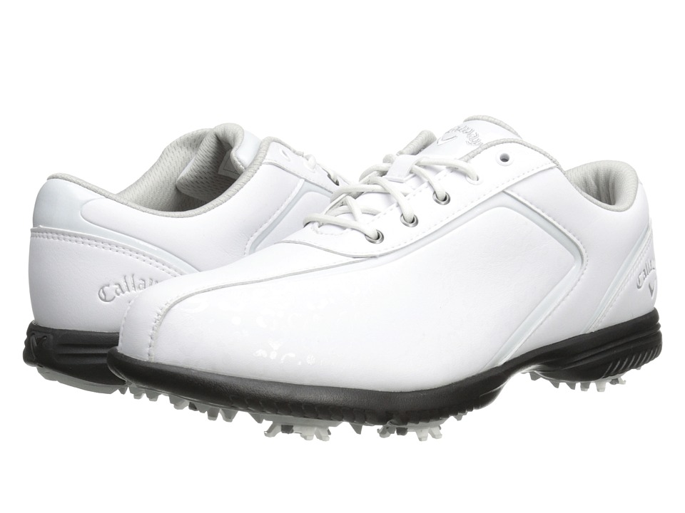 Callaway - Halo Pro (White/Leopard) Women's Golf Shoes