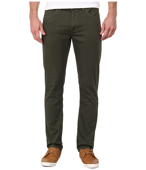O'Neill - The Slim Twill Denim (Army) Men's Casual Pants