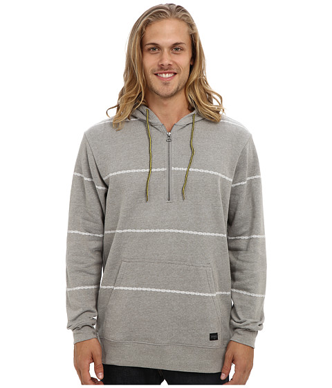 O'Neill - Lobos Fashion Fleece (Medium Grey) Men's Fleece