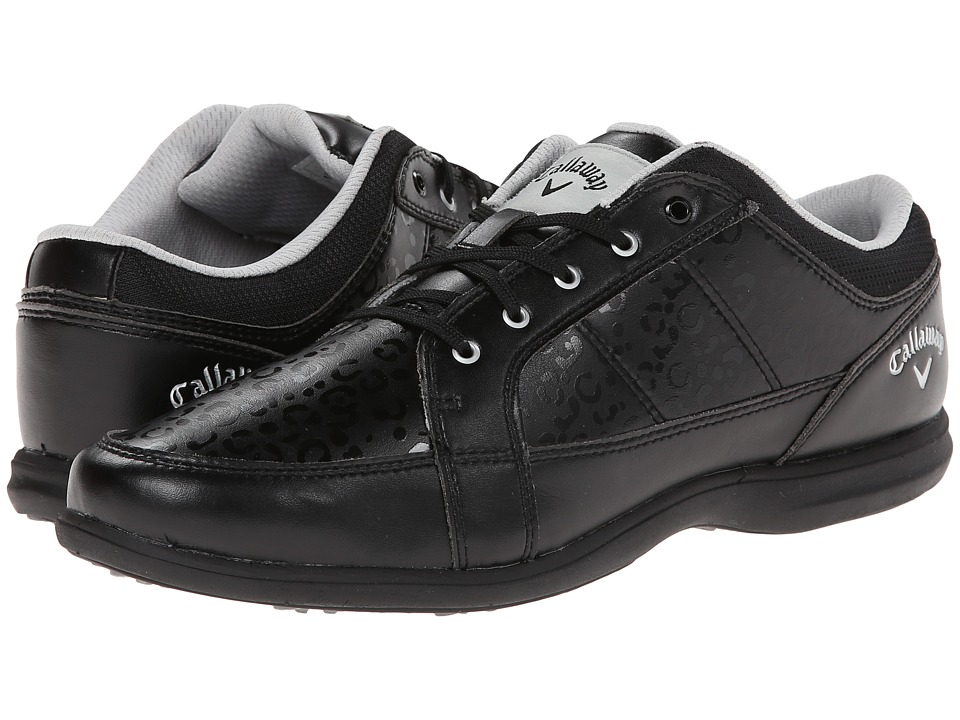 Callaway - Playa (Black/Leopard) Women's Golf Shoes