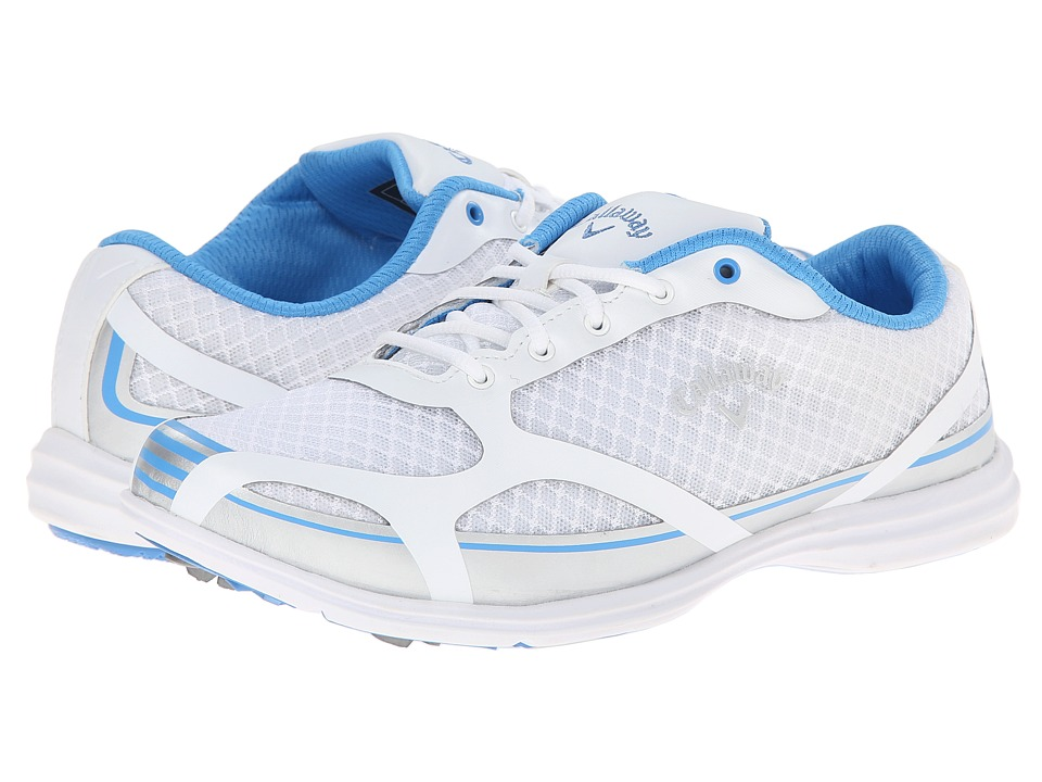 Callaway - Solaire (White/Blue) Women's Golf Shoes