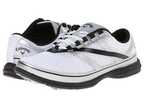 Callaway - Solaire SE (White/Silver/Black) Women's Golf Shoes